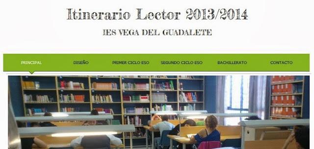 ITINERARIO LECTOR 2013/14